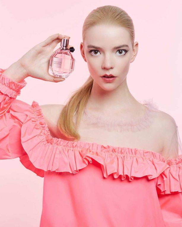 Anya Taylor-Joy - Viktor & Rolf Flowerbomb Fragrance 2020