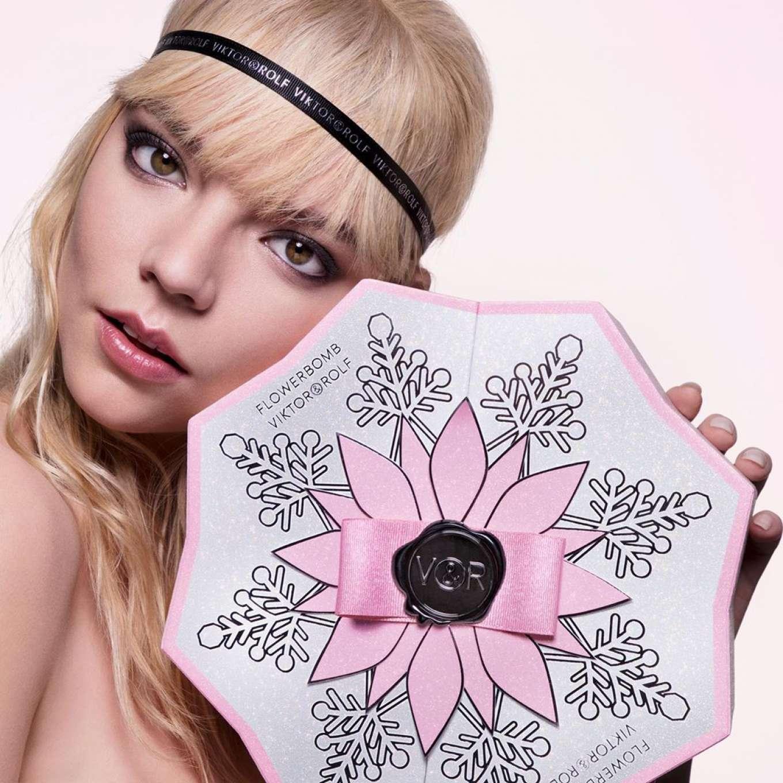Anya Taylor-Joy - Viktor&Rolf Flowerbomb Fragrance (December 2019/January 2020)