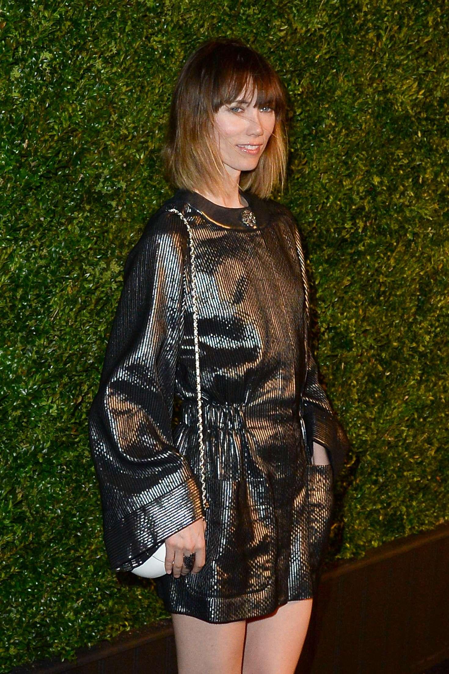 Anya Ziourova 2016 Chanel Tribeca Film Festival Artists Dinner In Ny