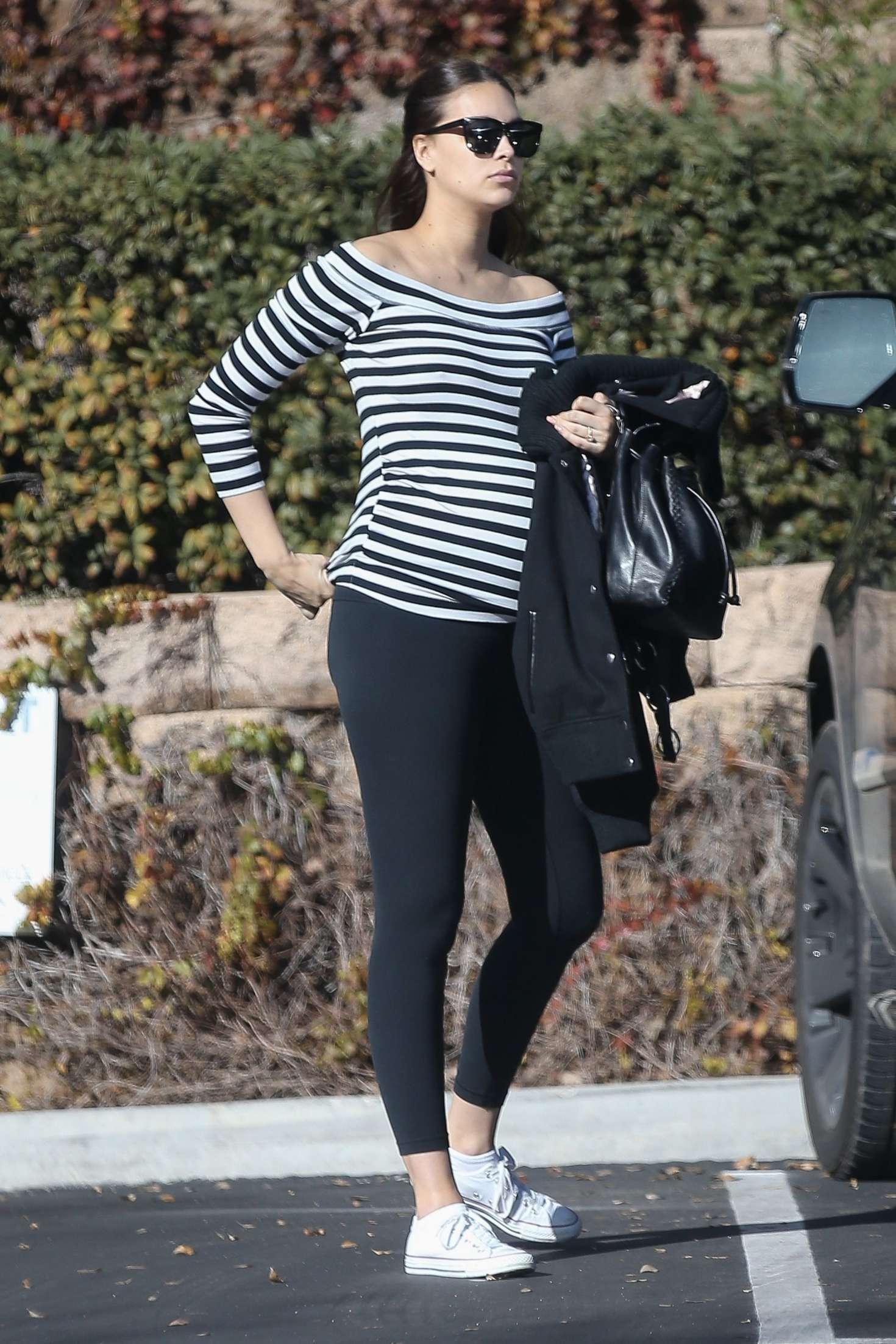 April Love Geary - Out for lunch in Studio City
