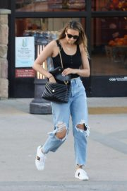 April Love Geary - Shopping at Pavilions in Malibu