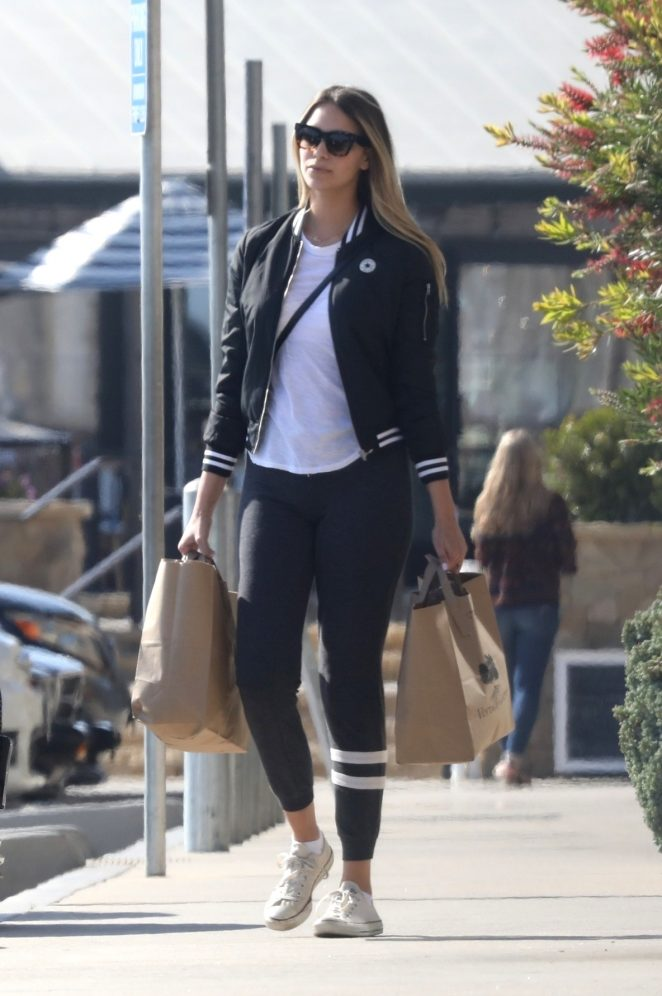 April Love Geary - Shopping at the Trancas Market in Malibu