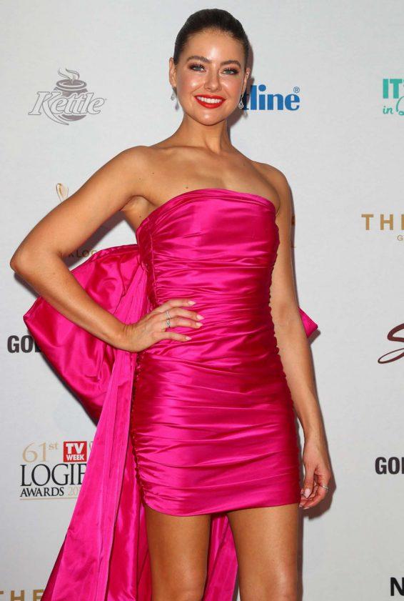 April Rose Pengilly - 2019 TV WEEK Logie Awards on the Gold Coast
