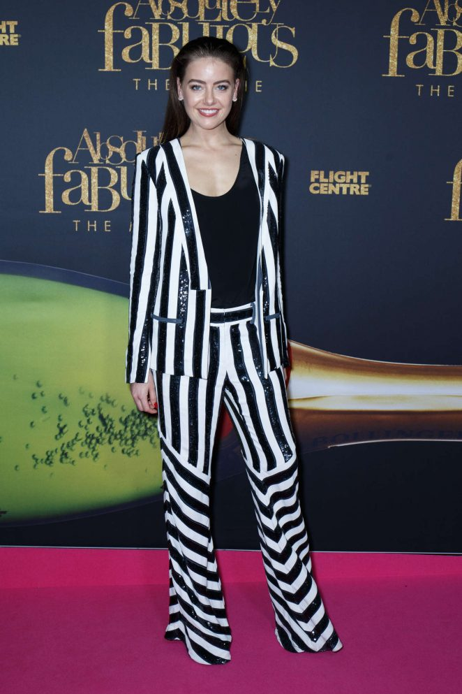 April Rose Pengilly - 'Absolutely Fabulous' Premiere in Sydney