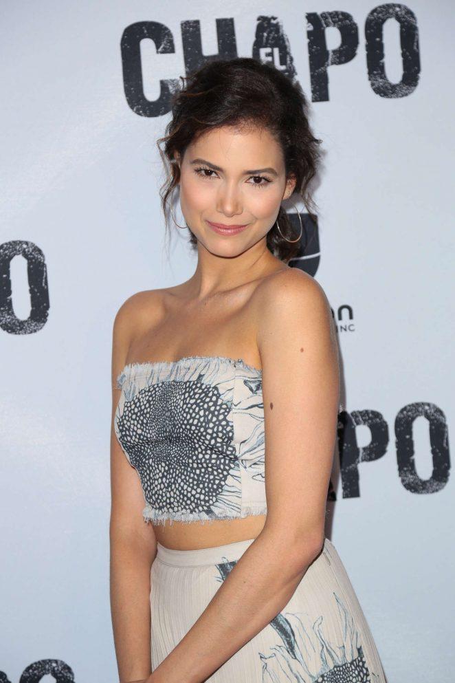 April Scheiber - 'El Chapo' TV series Premiere in Los Angeles