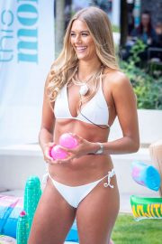 Arabella Chi in Bikini - 'This Morning' TV Show in London