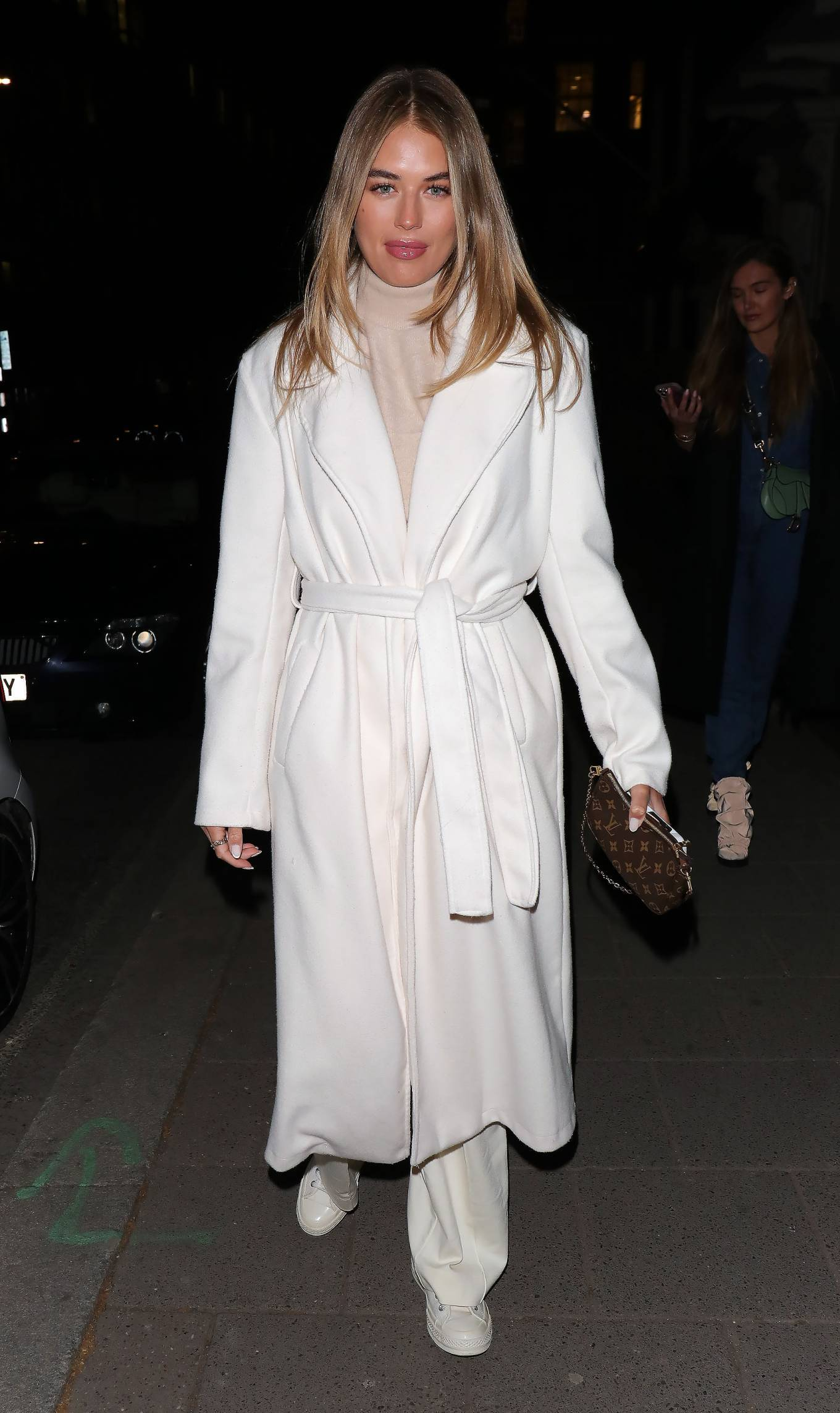 Arabella Chi - Night out at Annabel's club in Mayfair - London