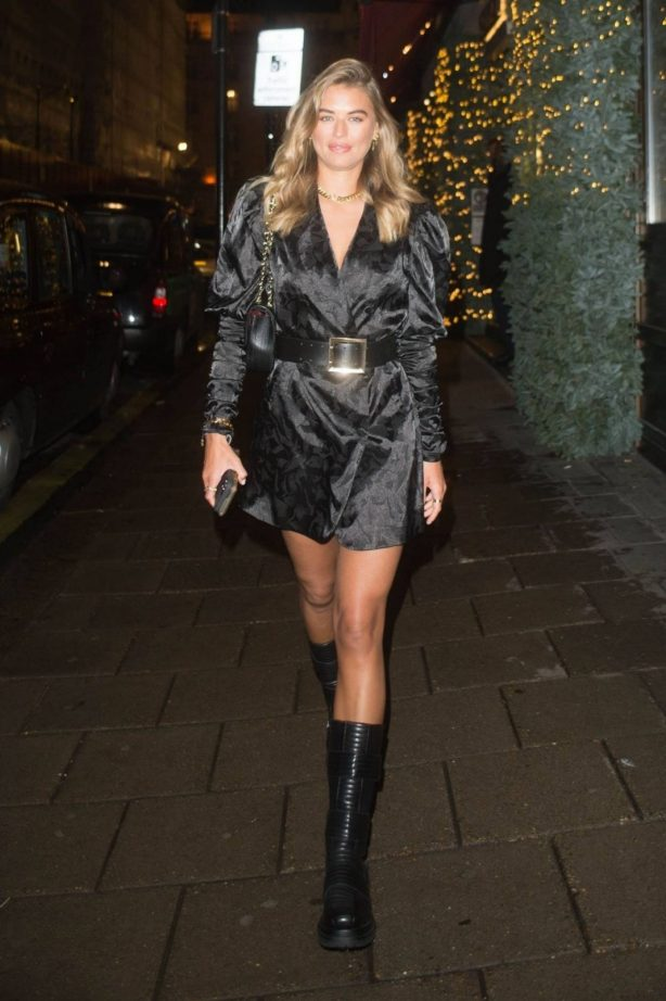 Arabella Chi - Seen at Novikov Restaurant in London