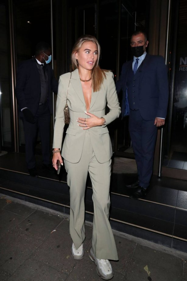 Arabella Chi - Seen Leaving Novikov in London