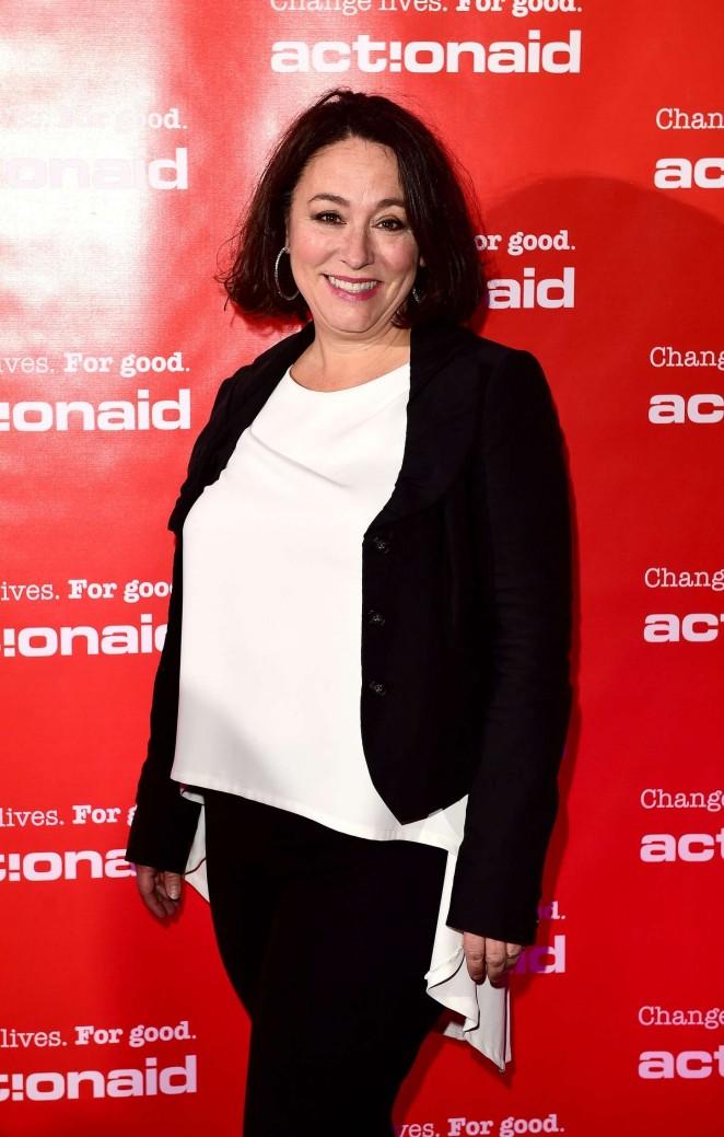 Arabella Weir - Winter Comedy Gala in aid of ActionAid in London