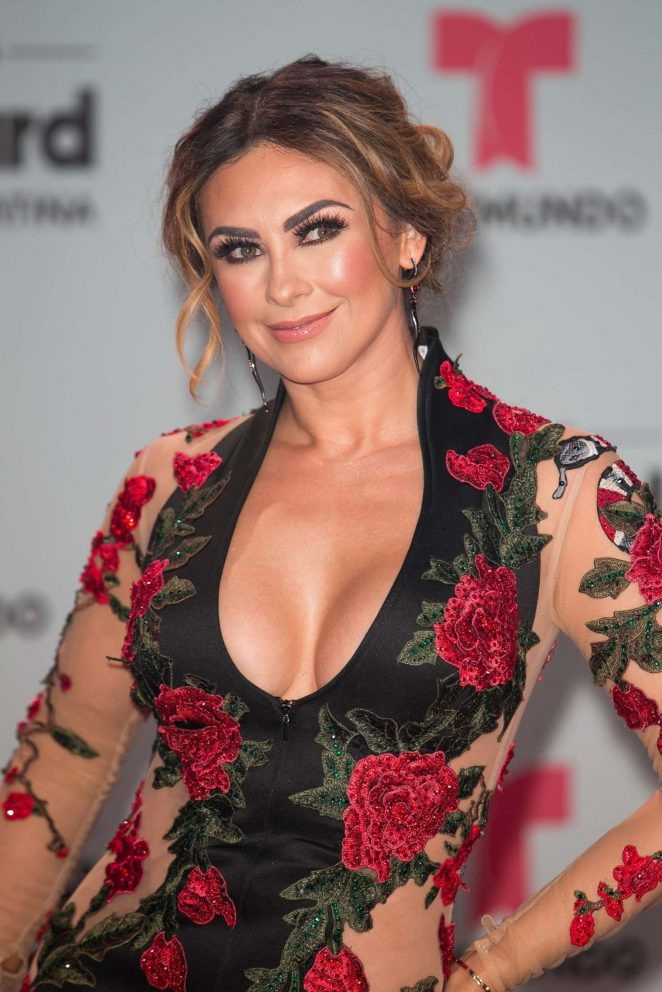 Aracely Arambula - 2017 Billboard Latin Music Awards in Miami