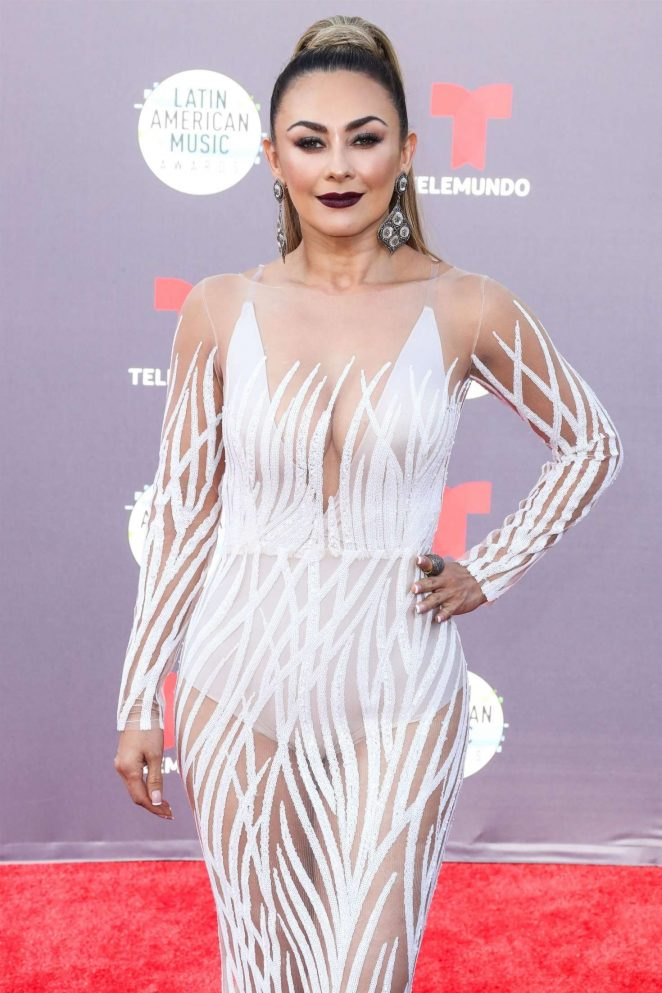 Aracely Arambula - 2018 Latin American Music Awards in Los Angeles