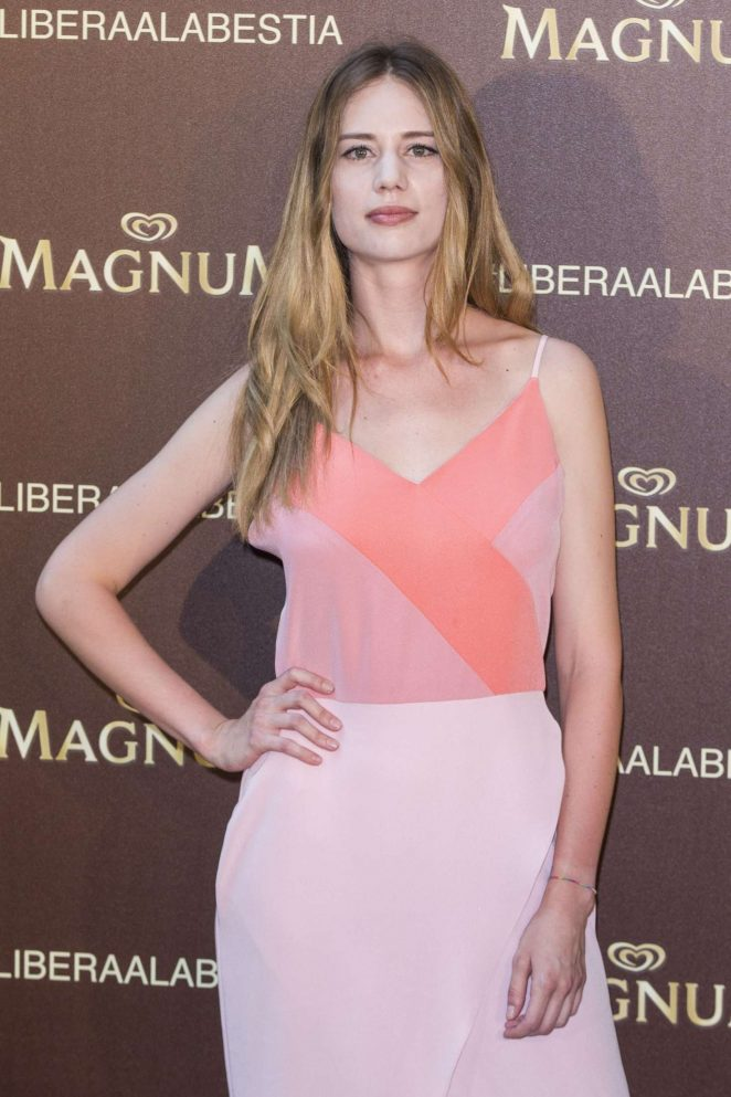 Arancha Martin - Magnum New Campaign Presentation in Madrid