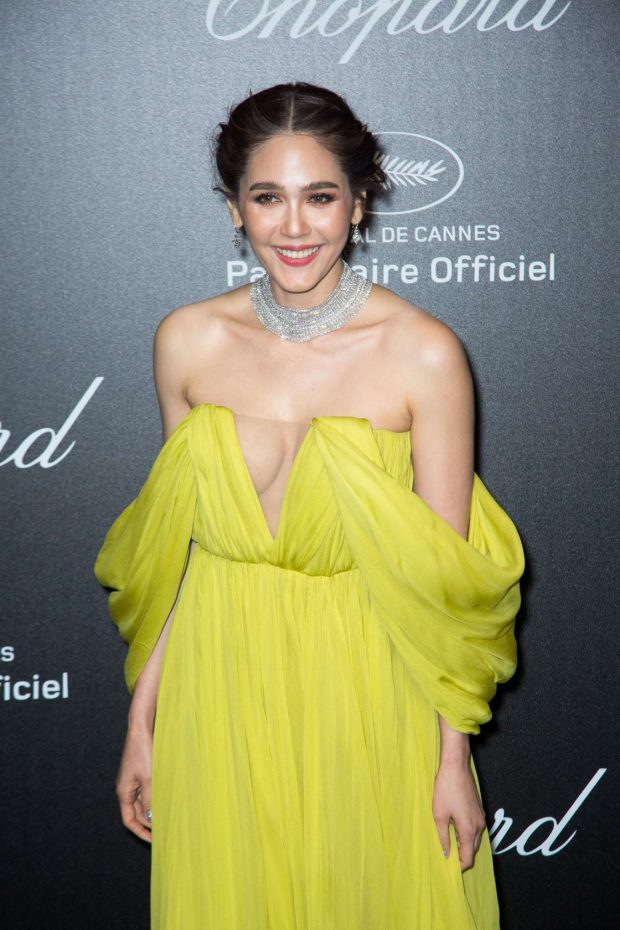 Araya A. Hargate - Chopard Party at 2019 Cannes Film Festival