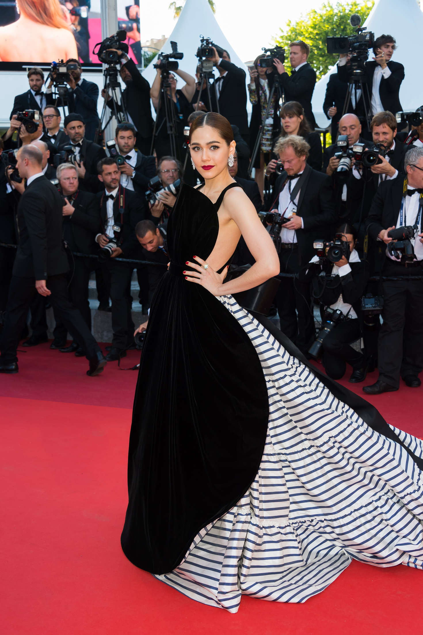 Araya A. Hargate - 'From the Land of the Moon' Premiere at 2016 Cannes Film Festival