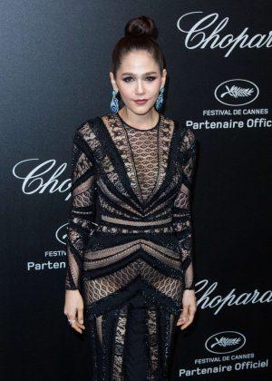 Araya A. Hargate - Secret Chopard Party at 208 Cannes Film Festival