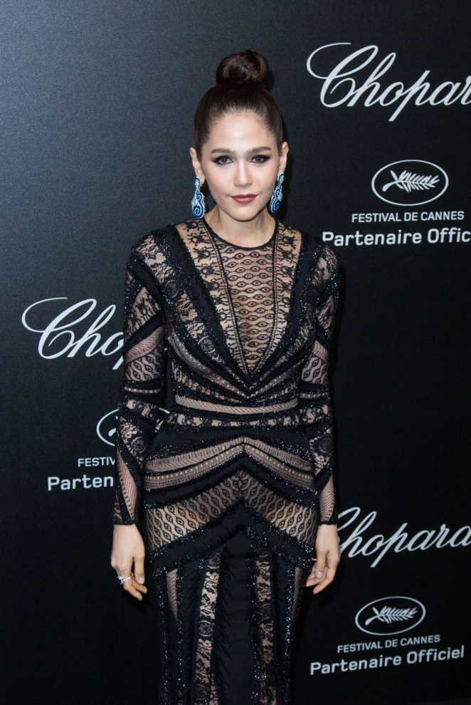 Araya A. Hargate - Secret Chopard Party at 208 Cannes Film Festival
