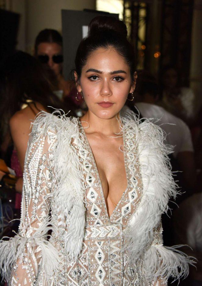 Araya Hargate - Zuhair Murad Haute Couture Show 2019 in Paris