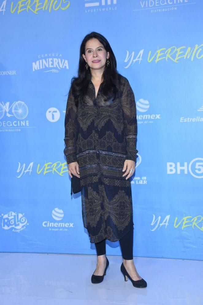 Arcelia Ramirez - 'Ya Veremos' Premiere in Mexico City
