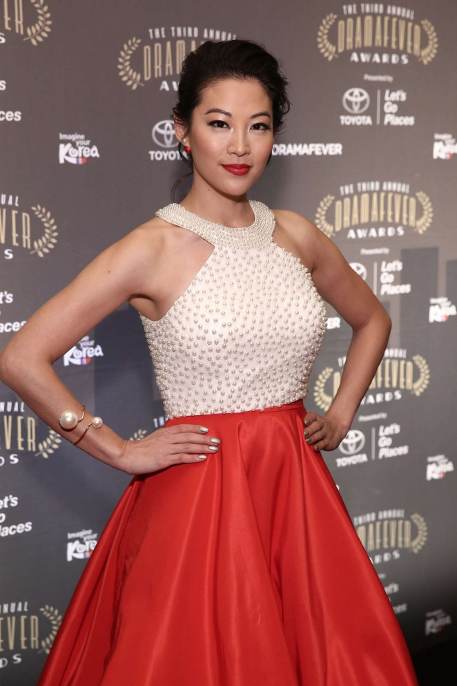 Arden Cho - 2015 DramaFever Awards in NYC