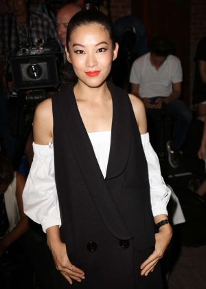 Arden Cho - Milly Fashion Show at 2016 New York Fashion Week in NY
