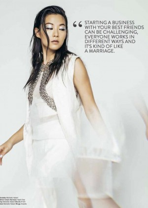 Arden Cho - Rogue Magazine (Spring 2016)