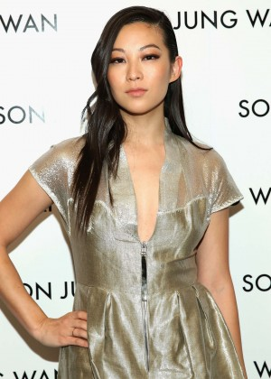 Arden Cho - Son Jung Wan 2016 Fashion Show in NYC