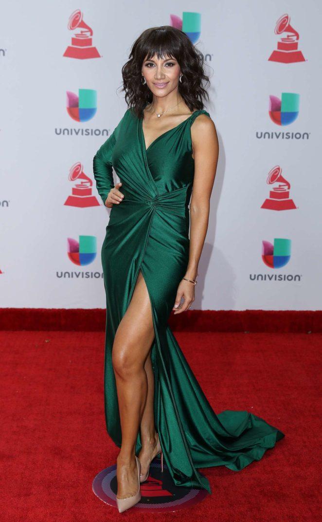 Argelia Atilano - 2017 Latin Grammy Awards in Las Vegas