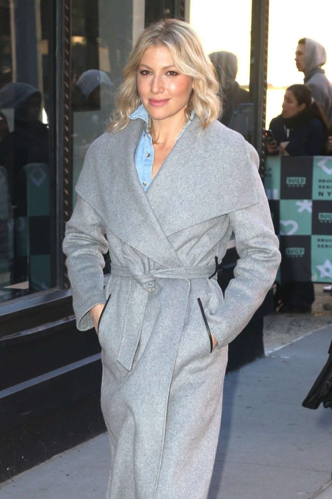 Ari Graynor - Arrives at AOL Build Series in NYC