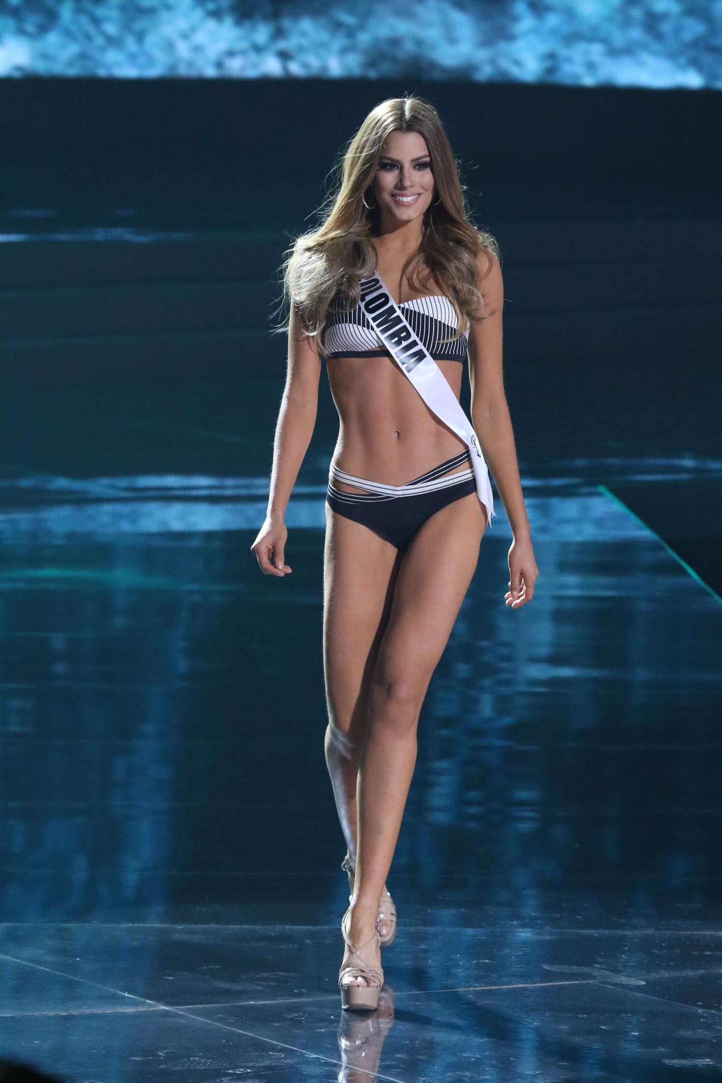 Ariadna Gutierrez Arevalo - Miss Universe 2015 Preliminary Round in Las Vegas