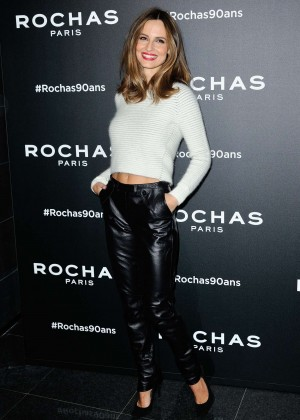 Ariadne Artiles - Rochas 90th Anniversary Cocktail at PFW SS 2016 in Paris