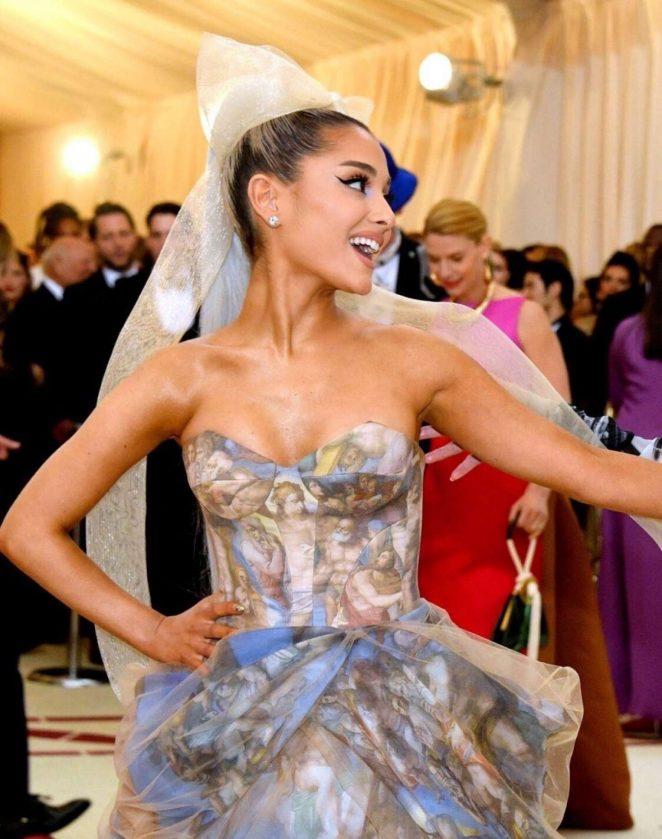 Ariana Grande - 2018 MET Gala in NYC