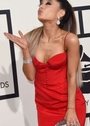 Ariana Grande - 2016 GRAMMY Awards in Los Angeles