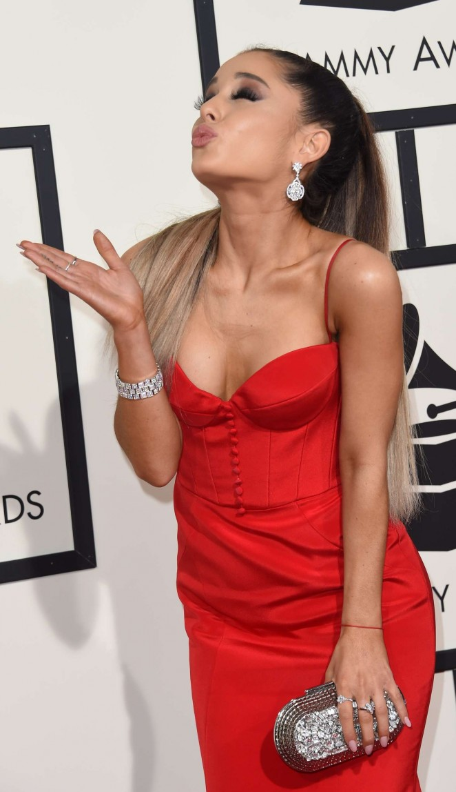 Ariana Grande - 2016 GRAMMY Awards in Los Angeles
