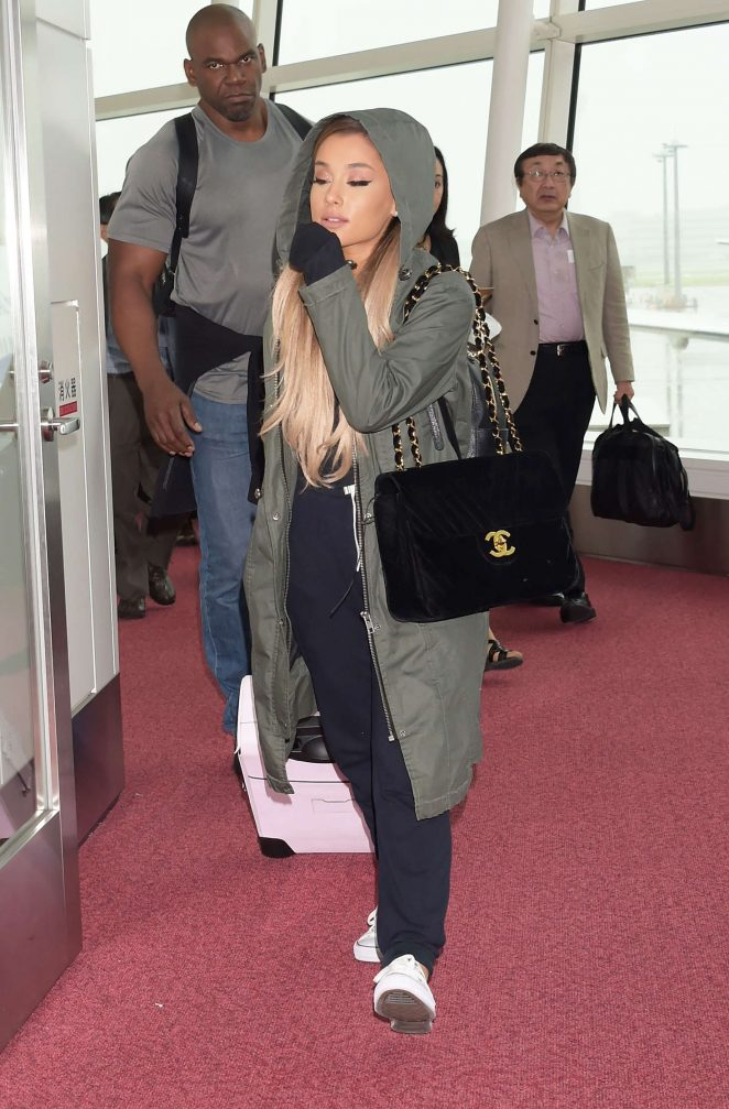 Ariana Grande: Arriving at Haneda Airport -16 - GotCeleb