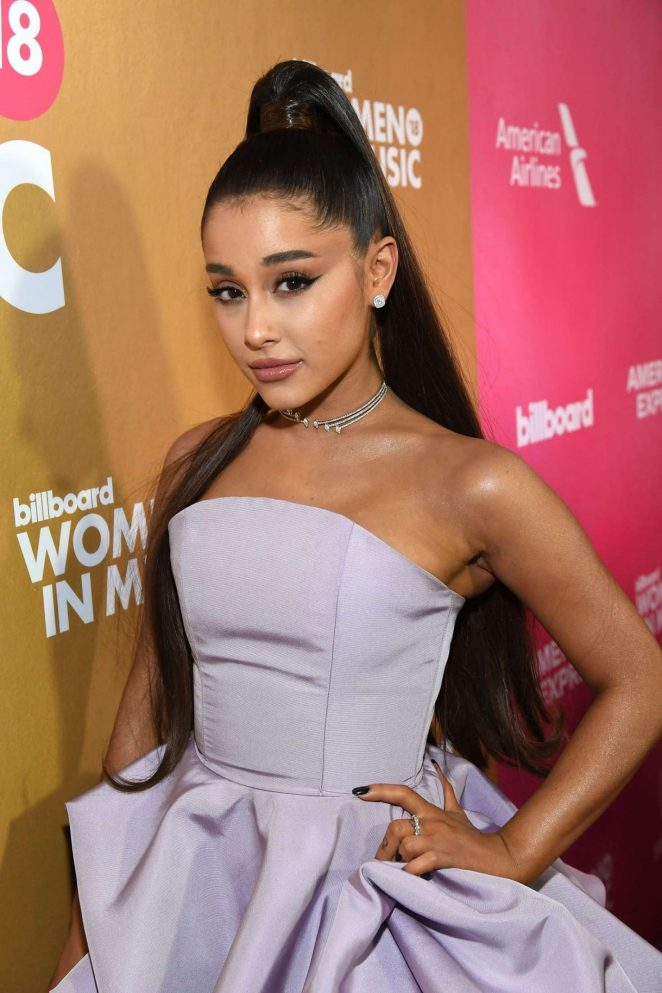 Ariana Grande - Billboard Women In Music 2018 in New York City