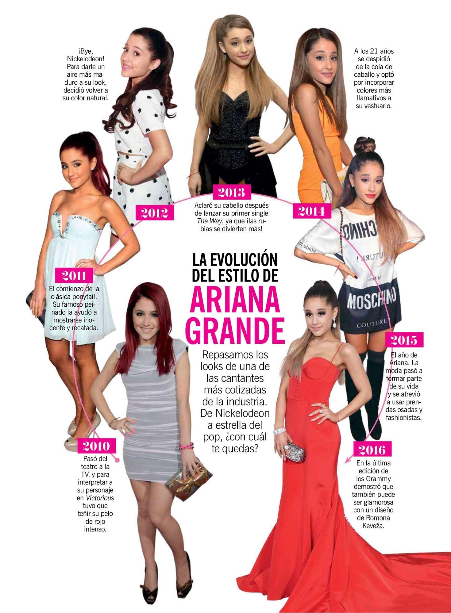 Ariana Grande Photoshoot Cosmopolitan 2017