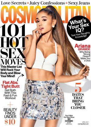 Ariana Grande - Cosmopolitan Magazine (April 2017)