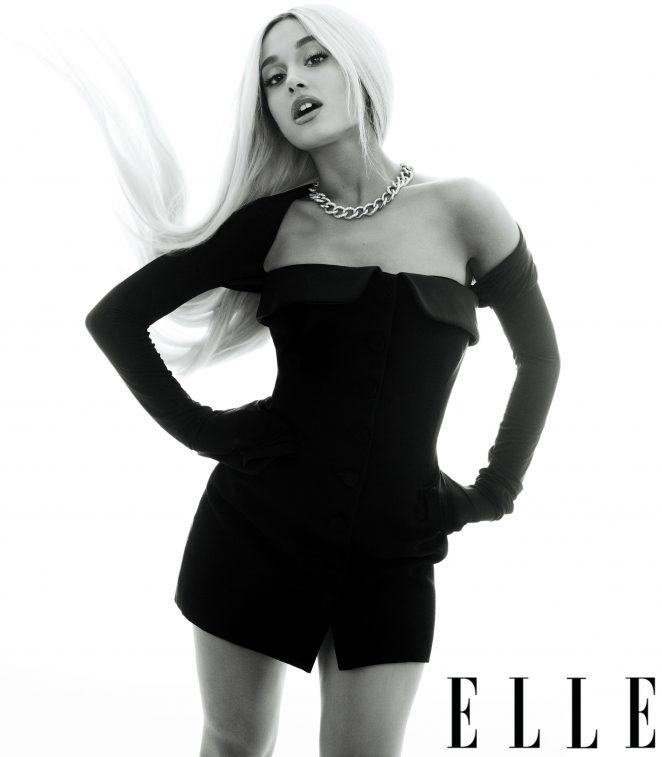 Ariana Grande – Elle US Magazine (August 2018)