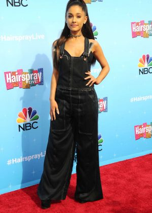 Ariana Grande - 'Hairspray Live!' Press Junket in Universal City