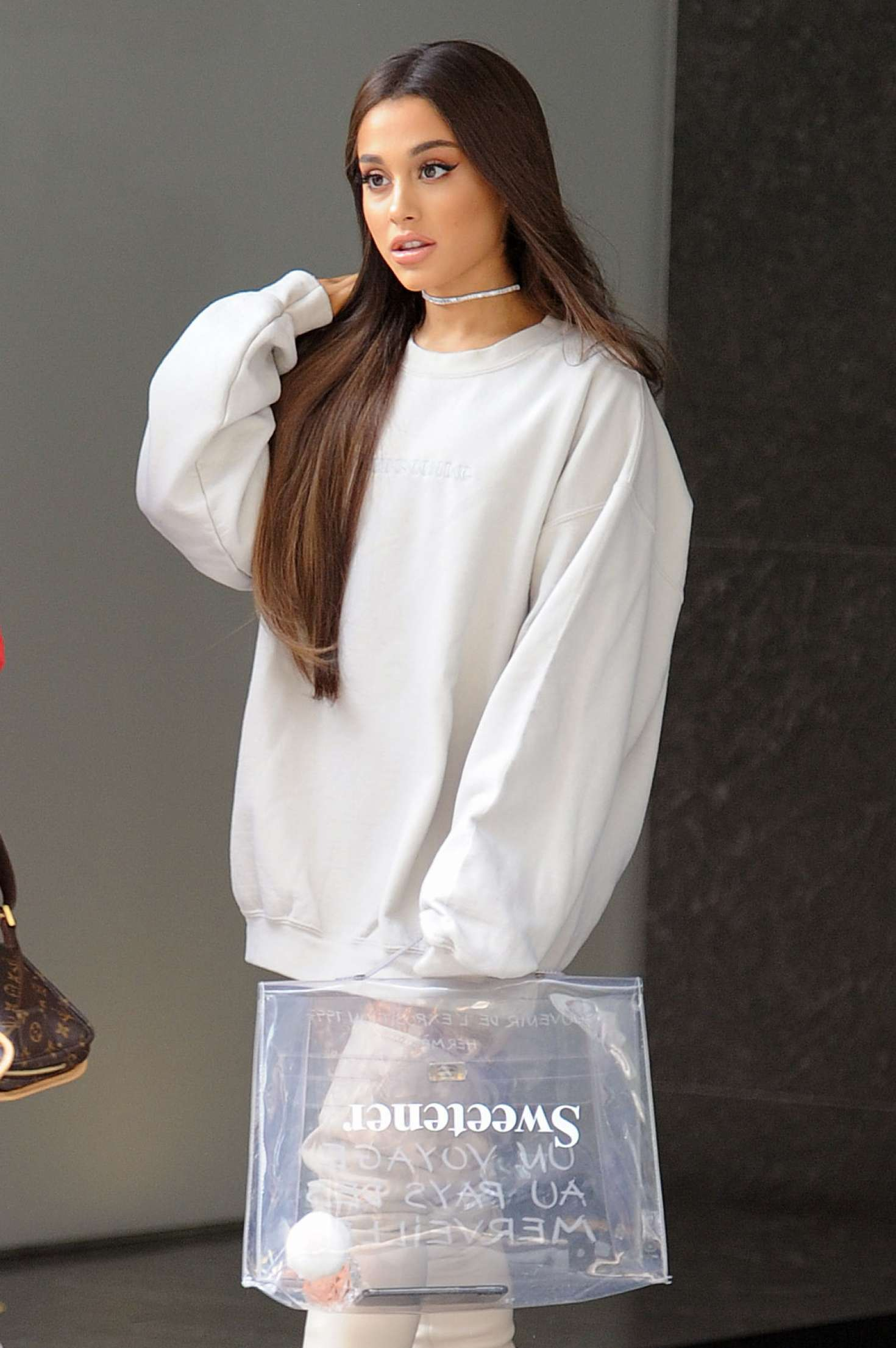 Ariana Grande – Heads To Promote Her New Album Sweetener In NYC