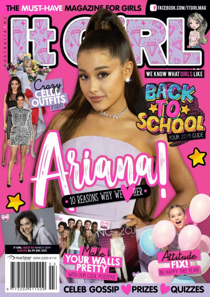 Ariana Grande - It GiRL Magazine (March 2019)