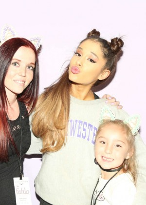 Ariana Grande - Meet and Greet in Boise