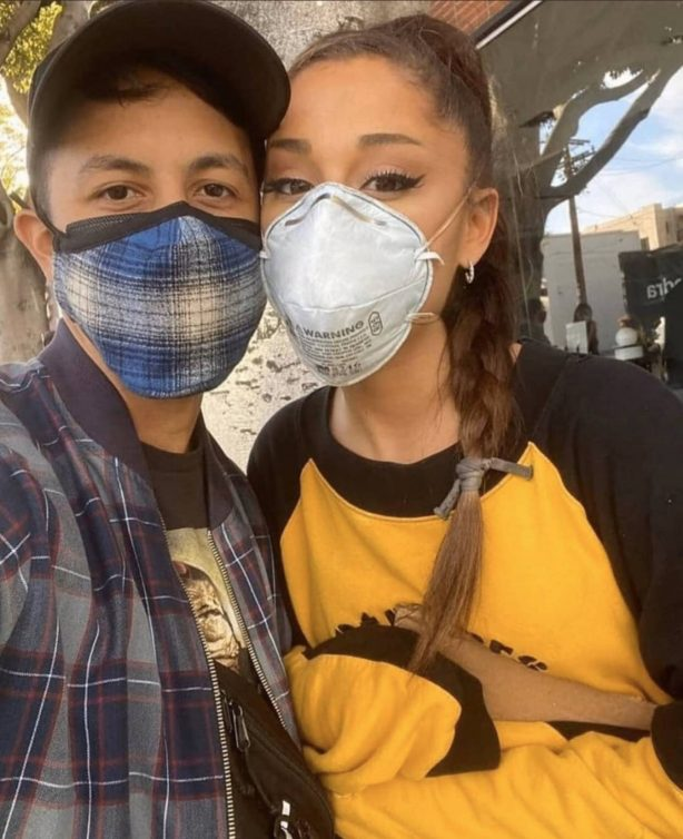 Ariana Grande - Out protesting for 'Black Lives Matter' in Los Angeles
