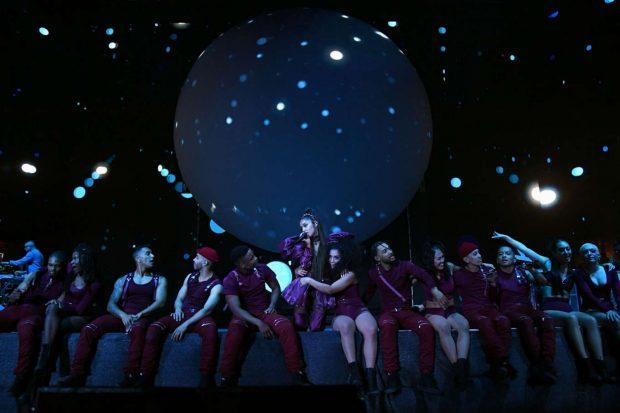 Ariana Grande: Performing at Coachella -16