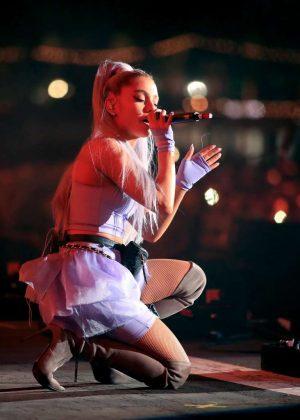 Ariana Grande Performs At 2018 Coachella Festival In Indio