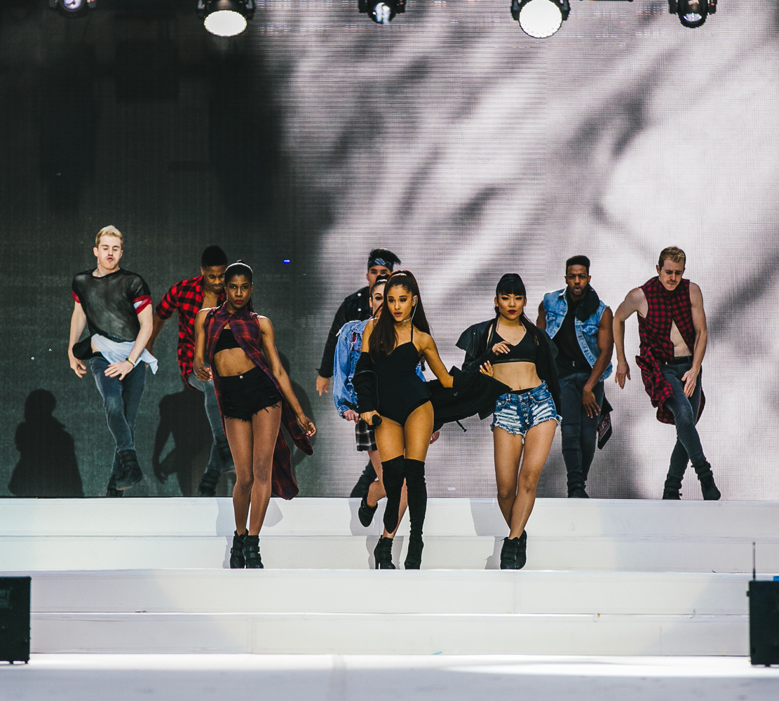 ARIANA GRANDE PERFORMS AT THE SUMMERTIME BALL 2016