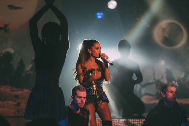 Ariana Grande - Performs at X Factor in Australia