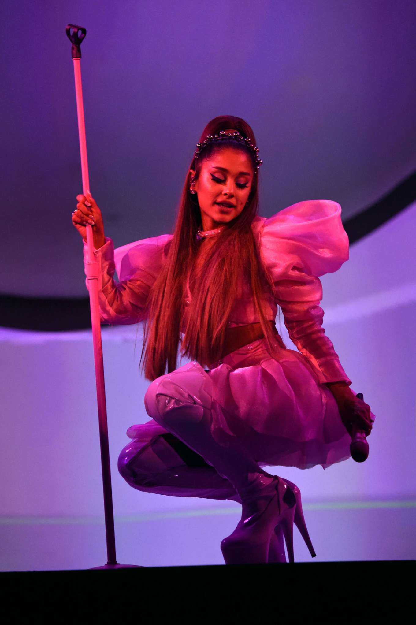 Ariana Grande - Performs on stage during Sweetener Tour