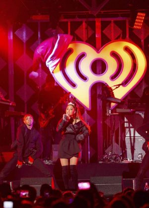 Ariana Grande - Power 96.1's iHeartRadio Jingle Ball in Atlanta
